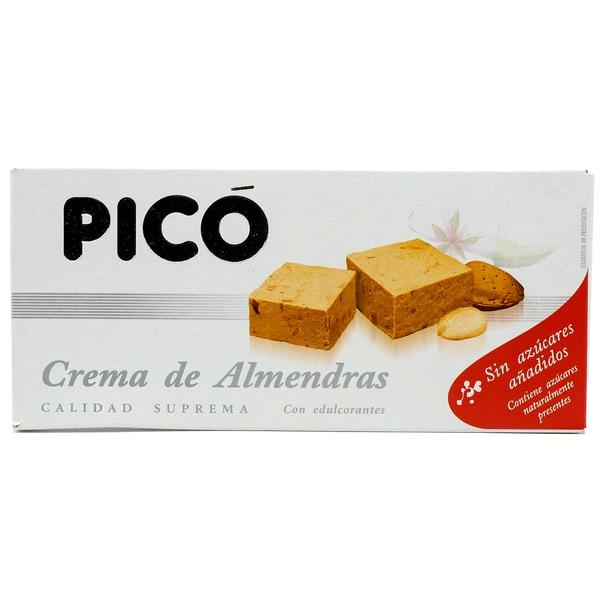 Pico Crema de Almendras weiche Mandelnougattafel ohne Zuckerzusatz 200g