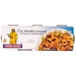 Vigilante Calamares en Salsa Americana Tintenfisch in Amerikanischer Sauce 153g, 3 Stück