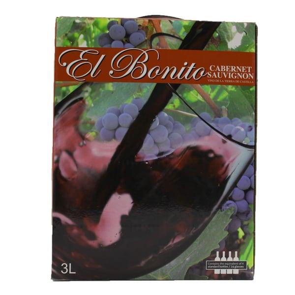 El Bonito Cabernet Sauvignon Bag in Box 3l