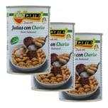 Abricome Judias con Chorizo Bohnen mit Paprikawurst 3 x 420g, 1.260g