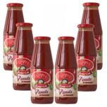 Mamma Lella Passata di Pomodoro passierte Tomaten 6 x 690g , 4.140g