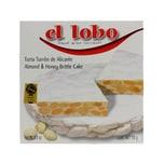 El Lobo Torta Turron de Alicante harte Mandelhonigtafel 150g