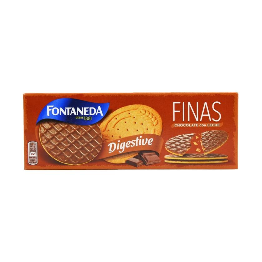 Fontaneda Finas Chocolate con Leche Kekse mit Milchschokolade 170g