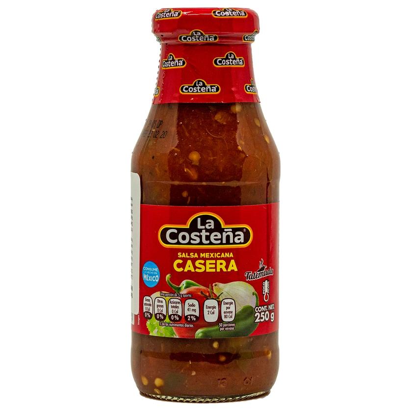 La Costeña Salsa Mexicana mittelscharfe grobstückige Sauce 250g