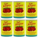San Marzano Concentrato di pomodoro Vintage doppelt konzentriertes Tomatenmark 6 x 400g, 2.400g