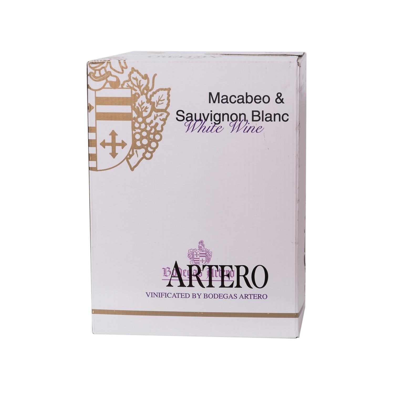 Artero Macabeo und Sauvignon Blanc In bag in box 5l