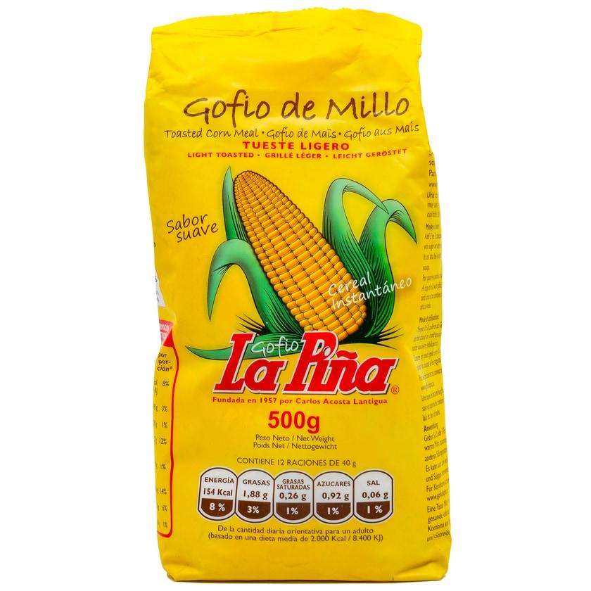 La Piña Gofio de Millo tueste ligero Maismehl leicht geröstet 500g