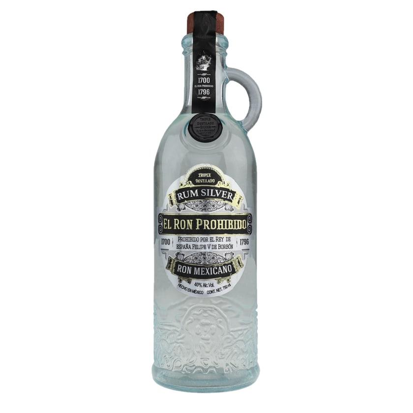 El Ron Prohibido Rum Silver 700ml