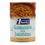 Huertas Kichererbsen mit Verschiedenen Gemüsen 415g