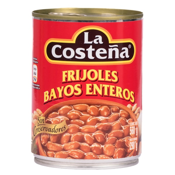 La Costeña Frijoles Bayos Enteros braune Bohnen 290g