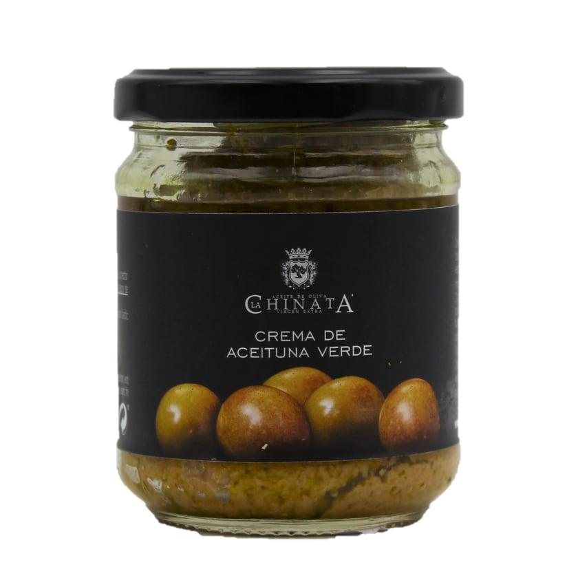 La Chinata Crema de Aceituna verde grüne Olivenpastete 180g