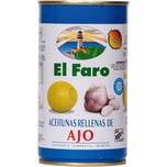El Faro Oliven gefüllt mit Knoblauch 150g