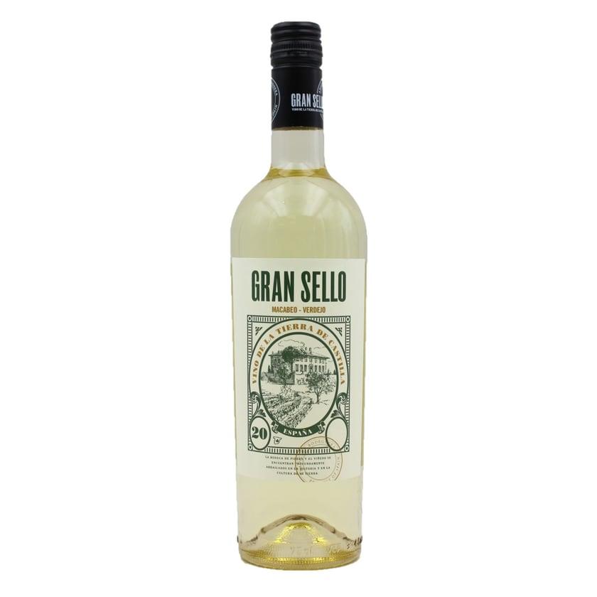 Gran Sello Macabeo Verdejo Weißwein 750ml