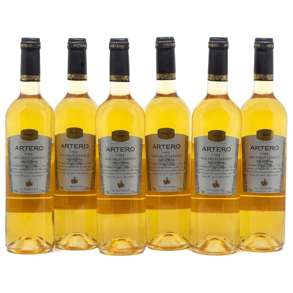 Artero Macabeo Verdejo Weißwein 6 x 750ml, 4,5l
