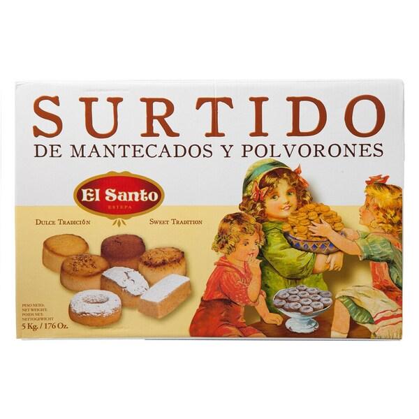 El Santo Surtido de Mantecados y Polvorones Gebäckmischung 5kg