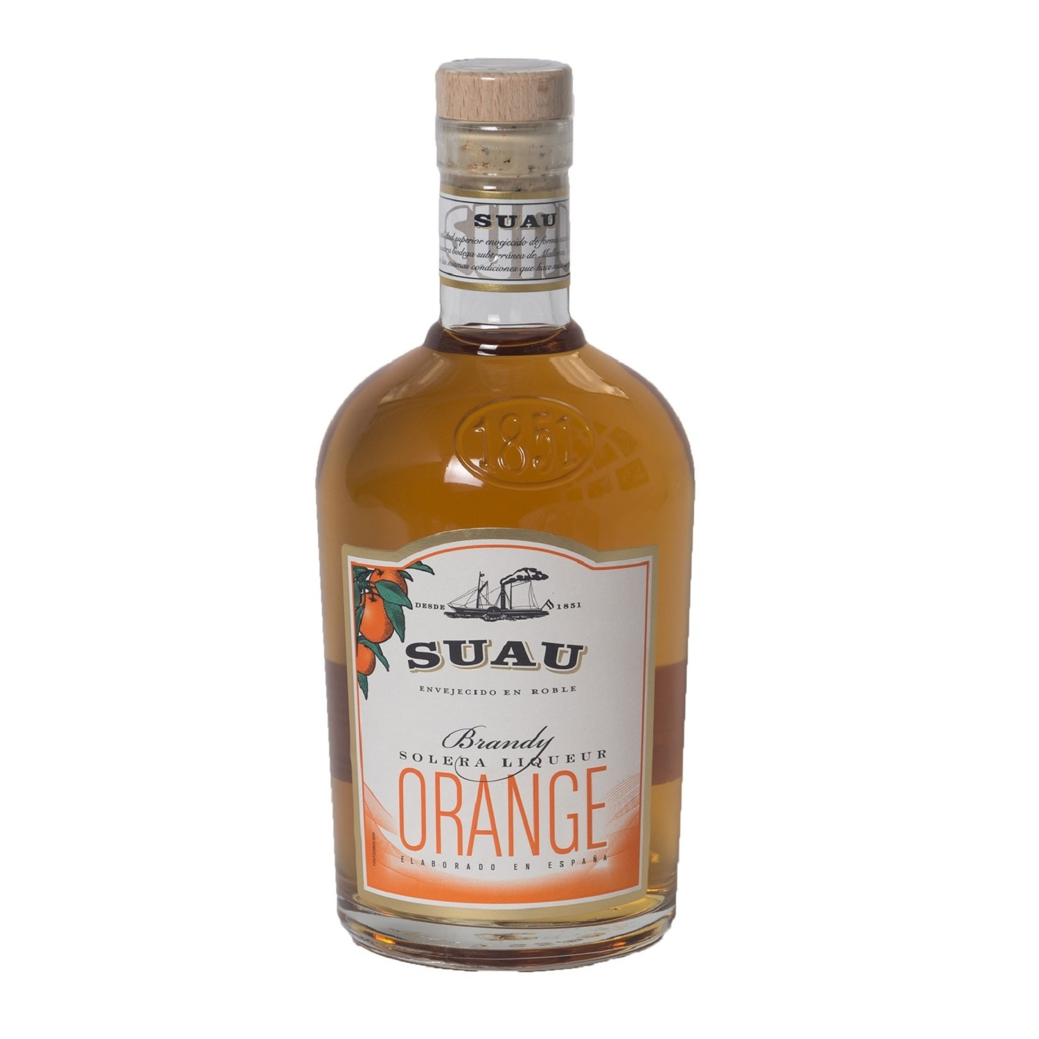Suau Orange Liqueur Brandy 0,7l