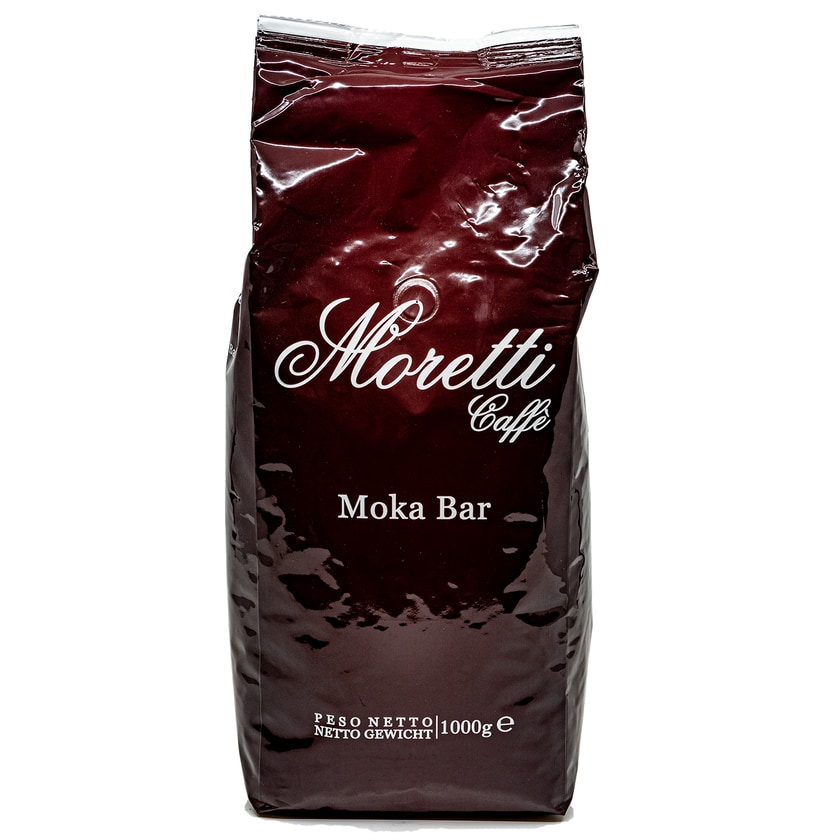 Moretti Caffe Moka Bar Espresso-Kaffeebohnen geröstet 1kg