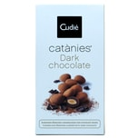 Cudie Catanies Dark chocolate Karamelisierte Marcona Mandel mit dunkler Schokolade 80g