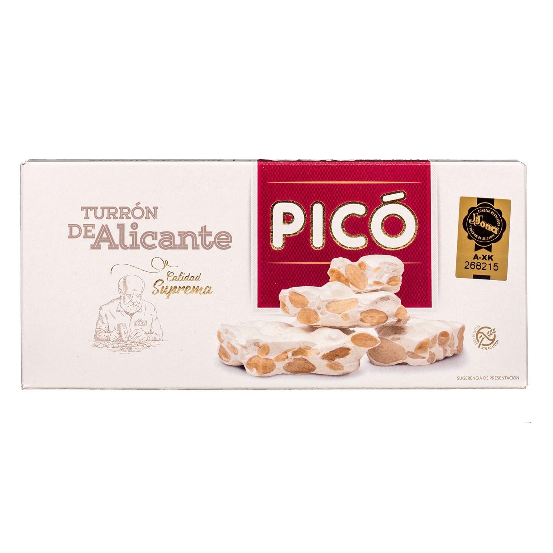 Pico Turron de Alicante Suprema hartes Mandelnougat 200g