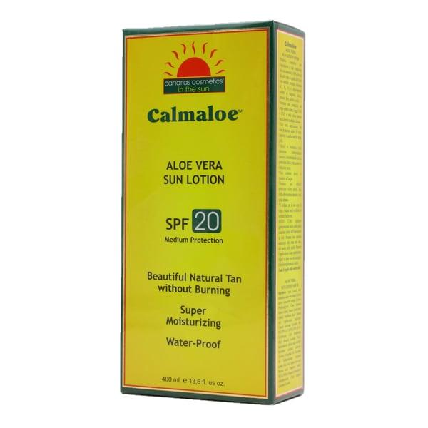 Canarias Cosmetics Aloe Vera Sonnenpflege SPF 20 400ml