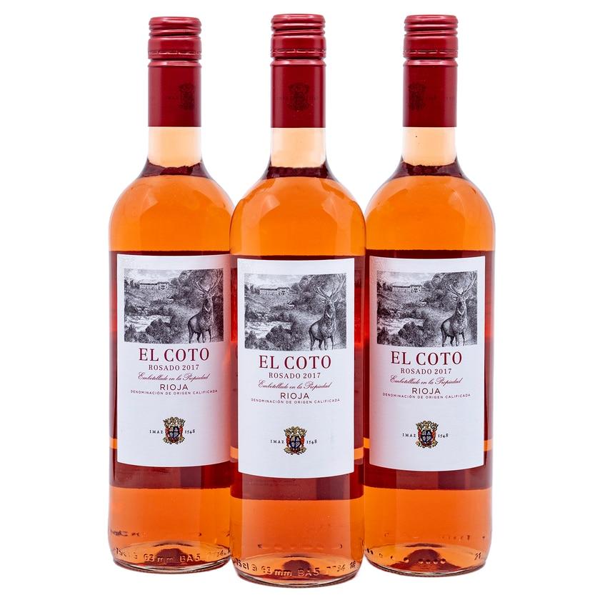 El Coto Rosado Rioja Rosewein 3x0,75l
