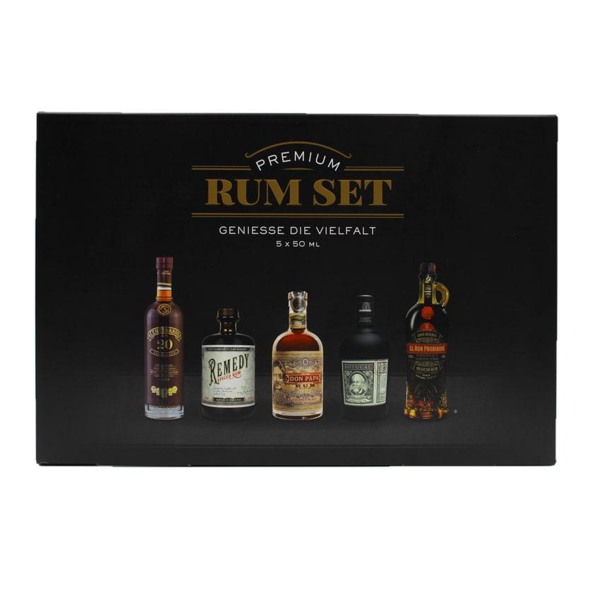 Sierra Madre Rum Tasting Set Premium 5x50ml