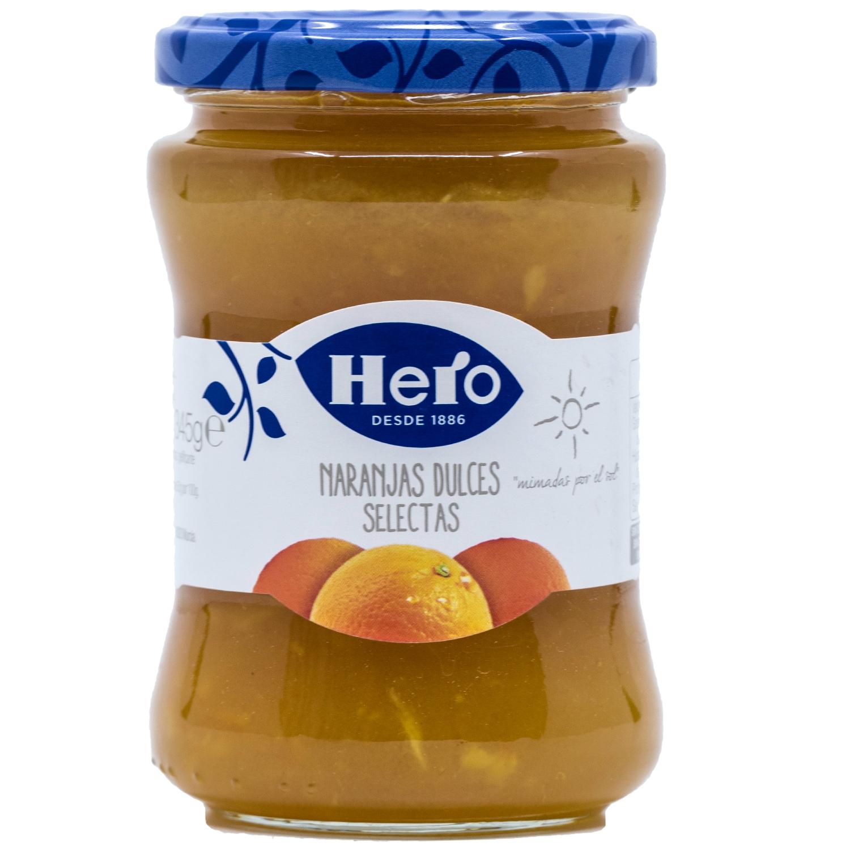 Hero Naranjas dulces selectas Süße Orangenkonfitüre 345g