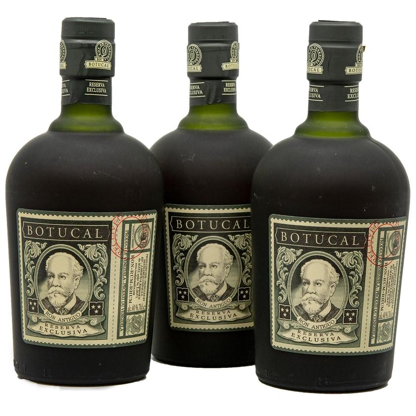 Botucal Ron Reserva Especial Exclusiva Rum 3 x 0.7l, 2.1l