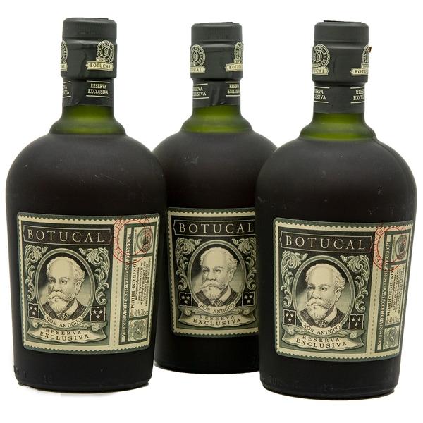 Botucal Ron Reserva Especial Exclusiva Rum 3x0,7l