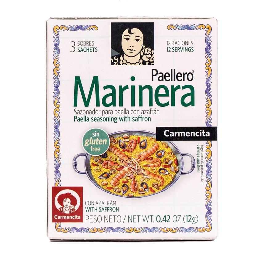 Carmencita Paellero Marinera Gewürzmischung mit Safran 12g
