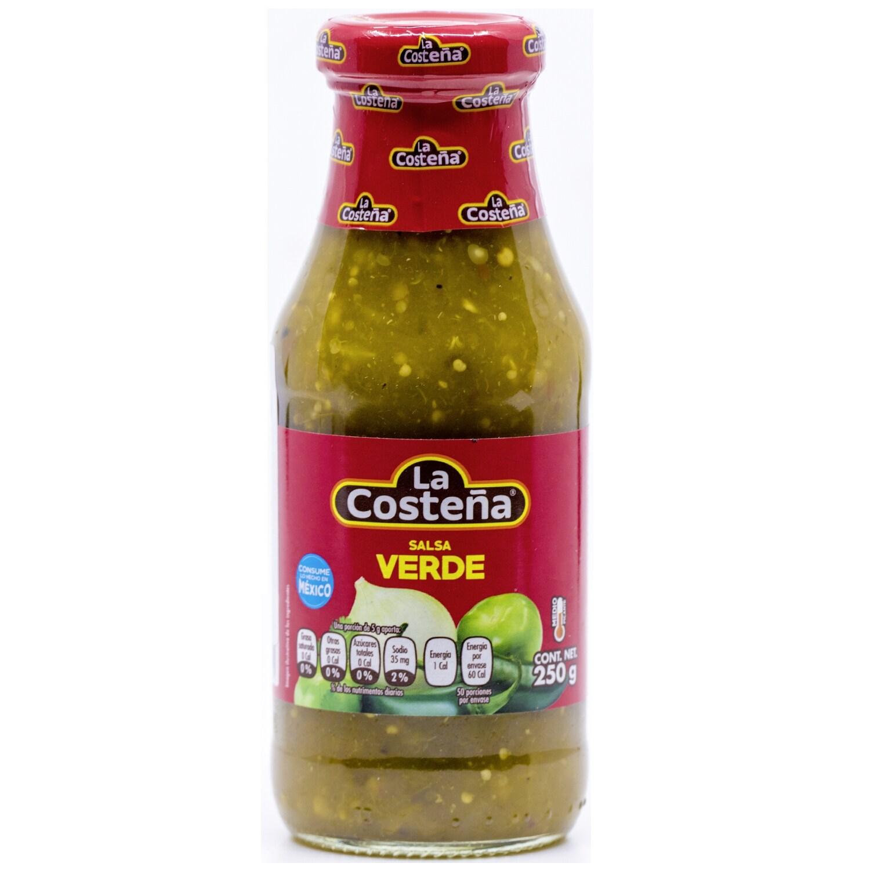 La Costena Salsa Verde mittelscharfe grüne Salsa 250g