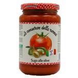 Le Conserve della Nonna Sugo alle Olive Tomatensoße mit Oliven 350g