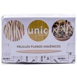 Unic Palillos Planos Higiénicos Zahnstocher aus Holz 500Stück