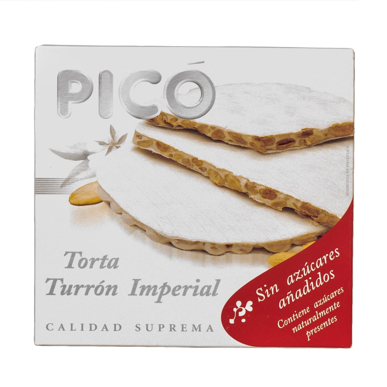 Pico Torta Turron Imperial Mandelnougattafel ohne Zuckerzusatz 200g