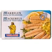 Vigilante Makrelenfilets in Pflanzenöl 58g