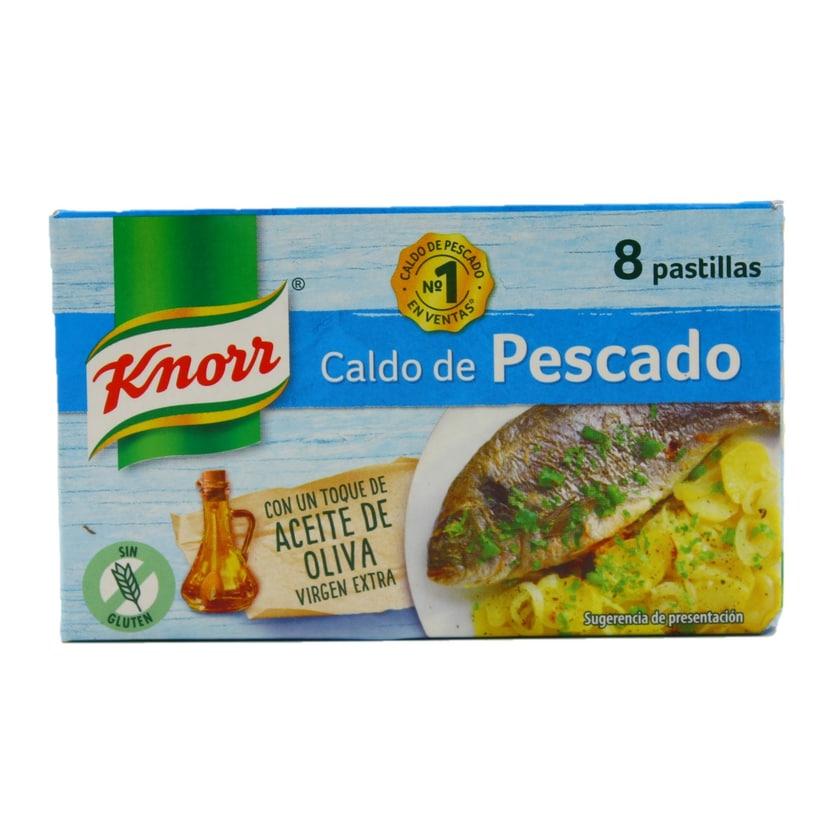 Knorr Caldo de Pescado Fischbrühwürfel 80g