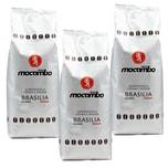 Mocambo Supermiscela Crema e Aroma Brasilia Röstkaffeebohnen 3x1kg