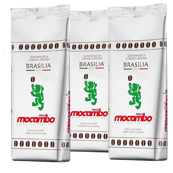 Mocambo Supermiscela Crema e Aroma Brasilia Röstkaffeebohnen 3 x 1.000g, 3kg