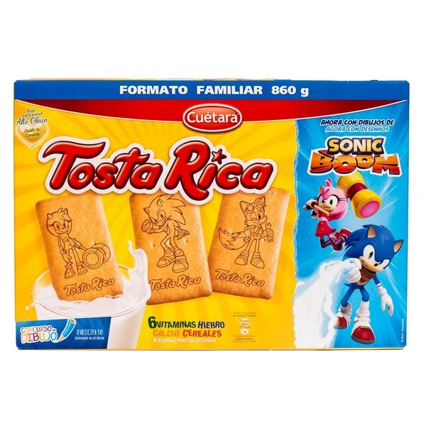 Tosta Rica Cuétara Kekse 860g
