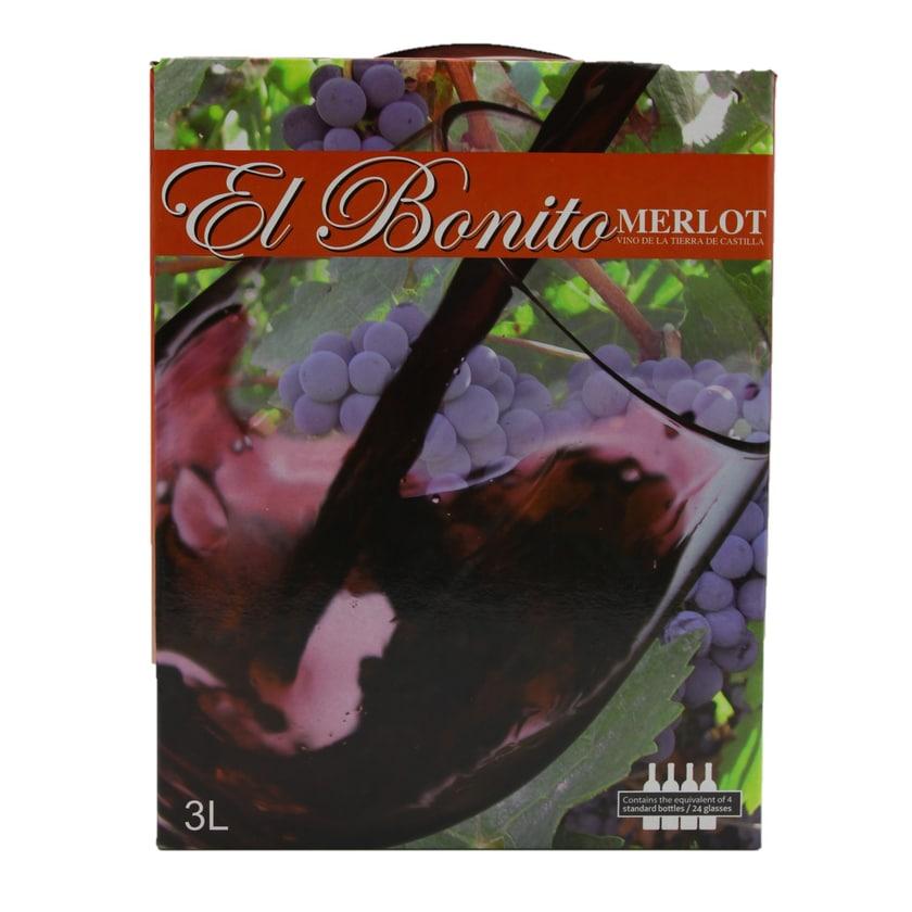 El Bonito Cabernet Sauvignon Rotwein 3l