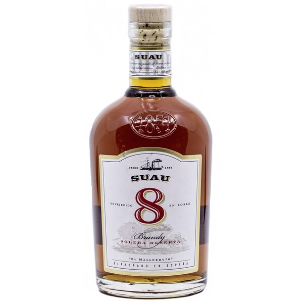 Suau 8 Anos Solera Reserva Brandy 0,7l