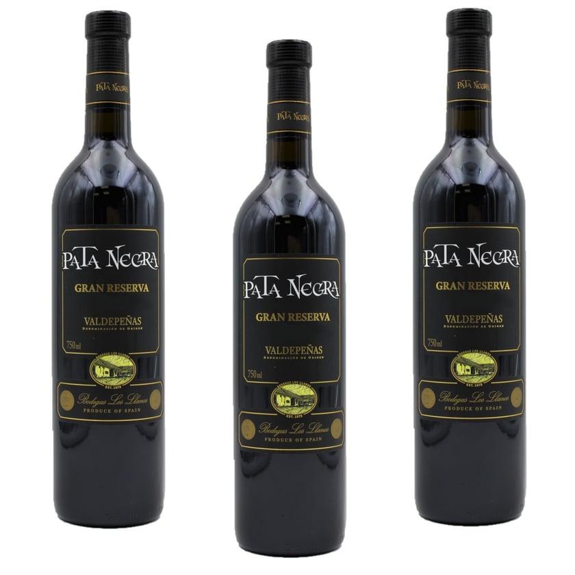 Pata Negra Gran Reserva Rotwein 3 x 750ml, 2,25l
