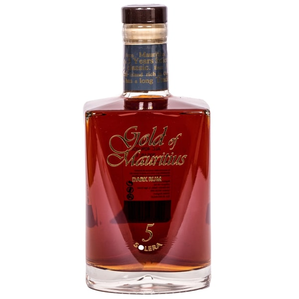 Gold of Mauritius Dark Rum Solera 5 Jahre 700ml