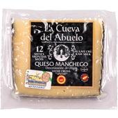 La Cueva del Abuelo Queso Manchego, Manchego Hartkäse 12 Monate 200g