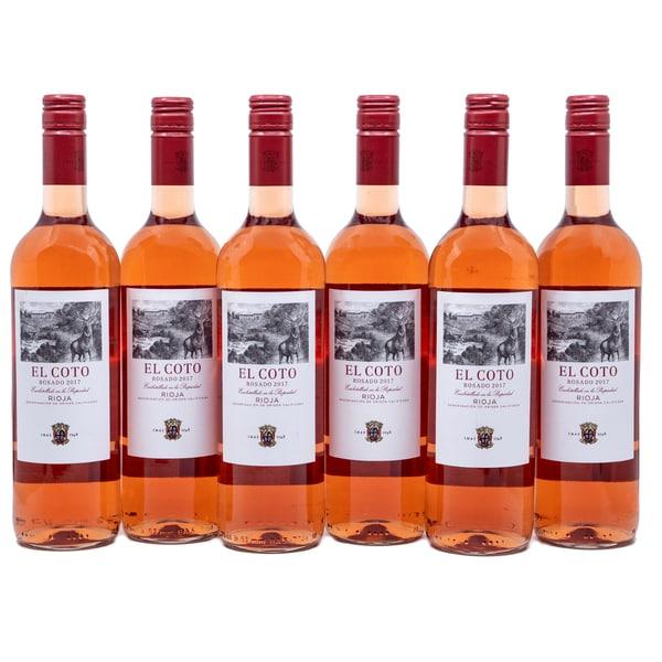 El Coto Rosado Rioja Rosewein 6x0,75l
