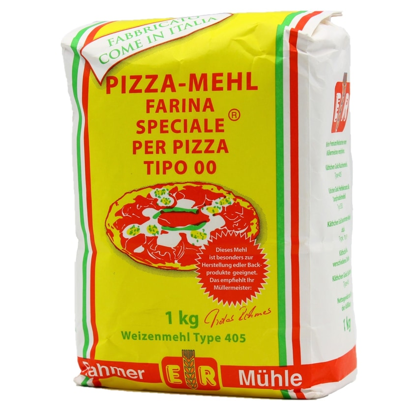 Rahmer Mühle Pizza-Mehl Typ 405 Farina per Pizza Tipo 00 1kg