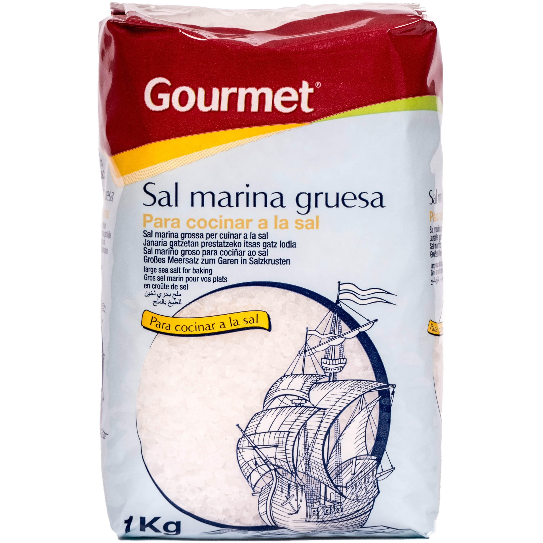 Gourmet Sal marina gruesaa grobkörniges Meersalz 1kg