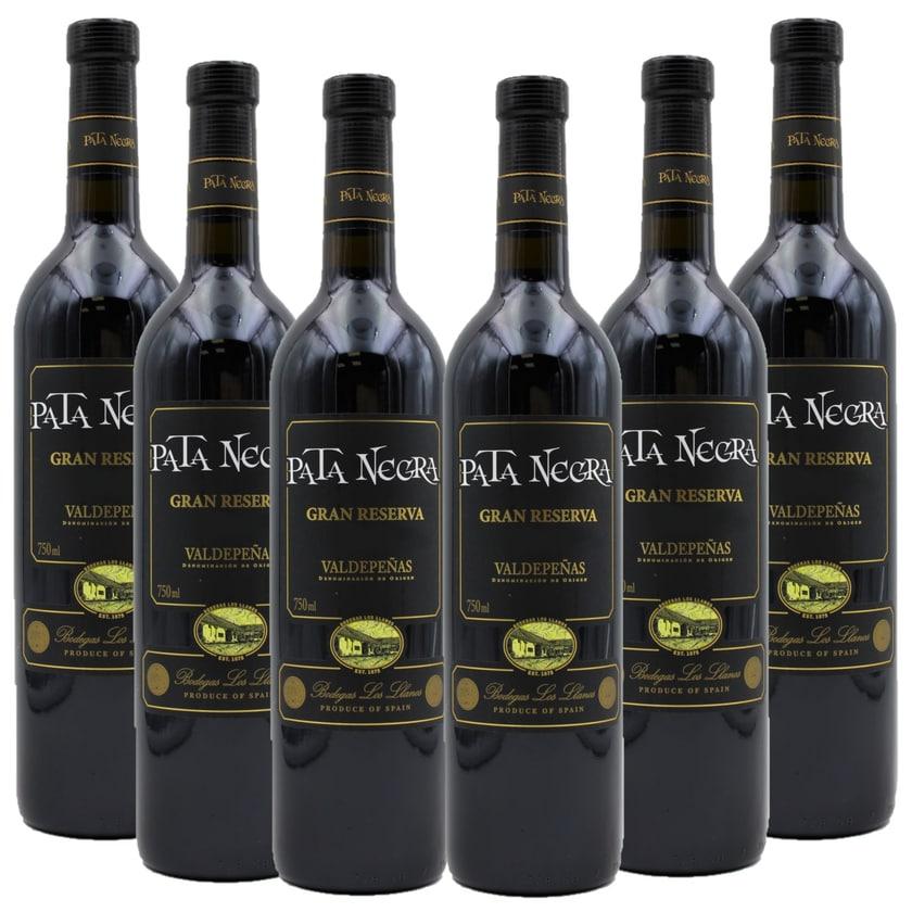 Pata Negra Gran Reserva Rotwein 6 x 750ml, 4,5l