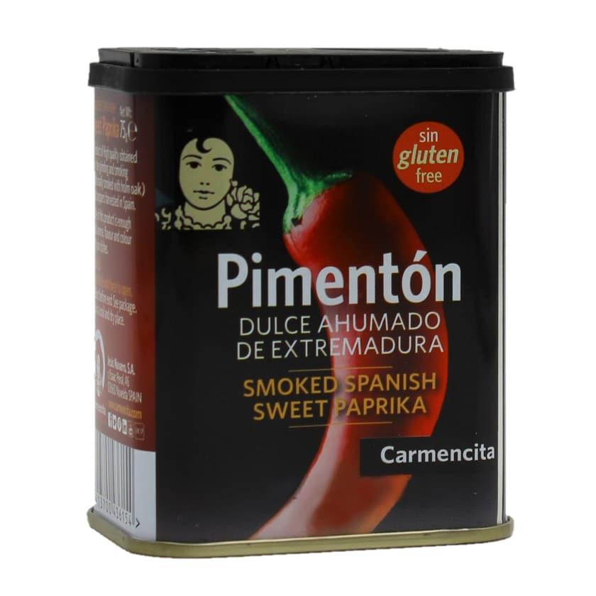 Carmencita Pimenton dulce ahumado Paprikapulver geräuchert süß 75g
