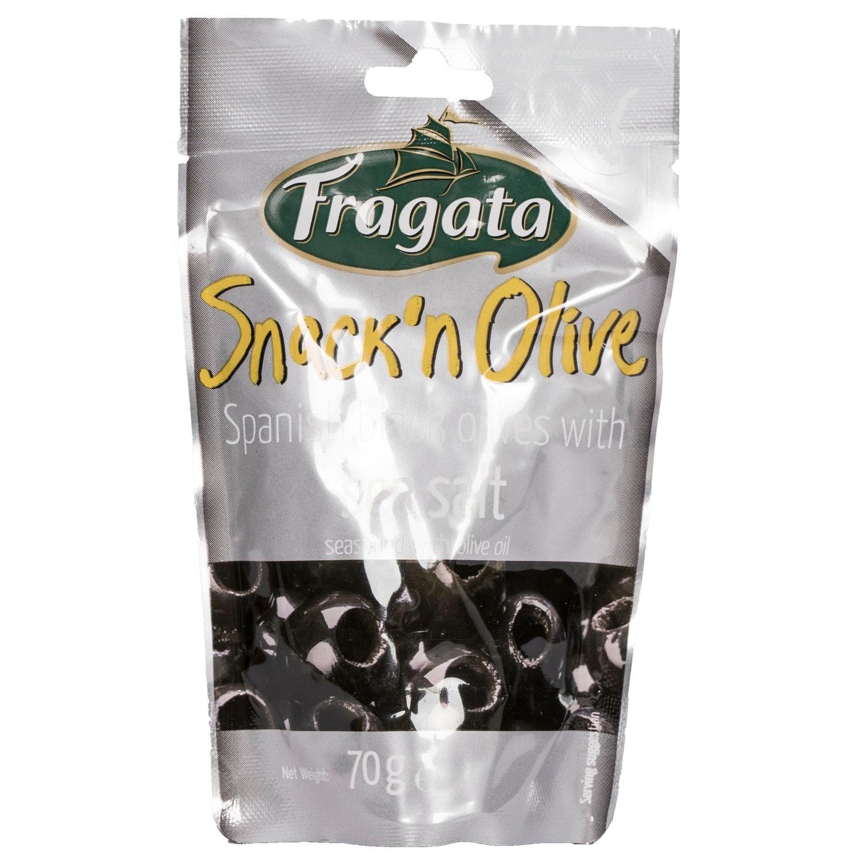 Fragata Snack Olive mit Meersalz 70g